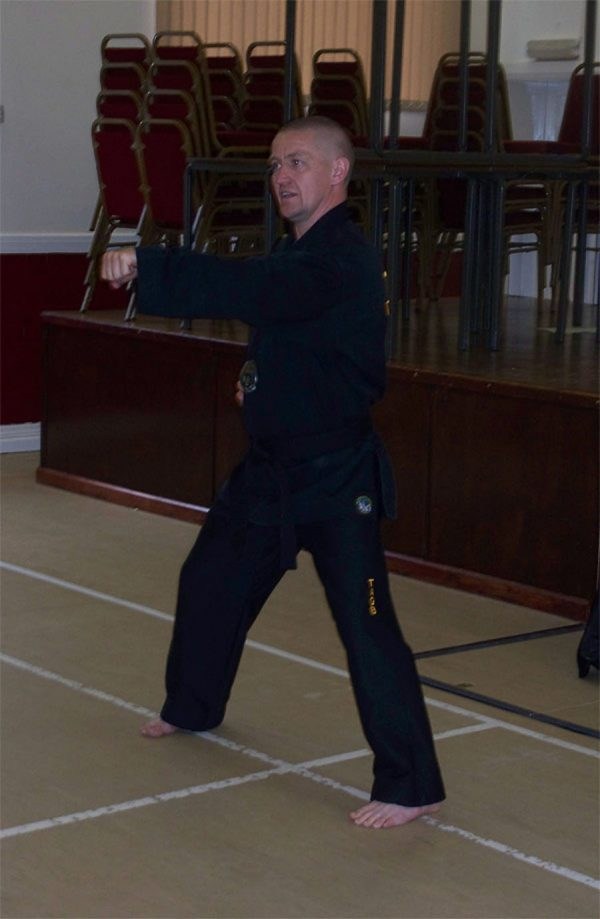 Stuart Davison – East Midlands's Tae -Kwon Do instructor